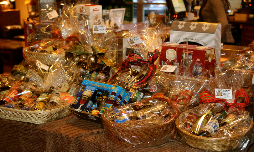 Baskets on Table small