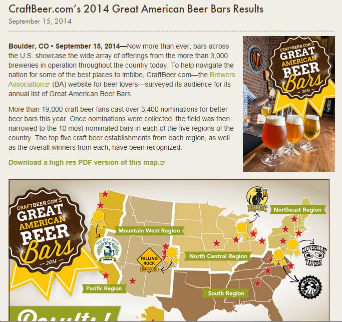 Best Bar Map