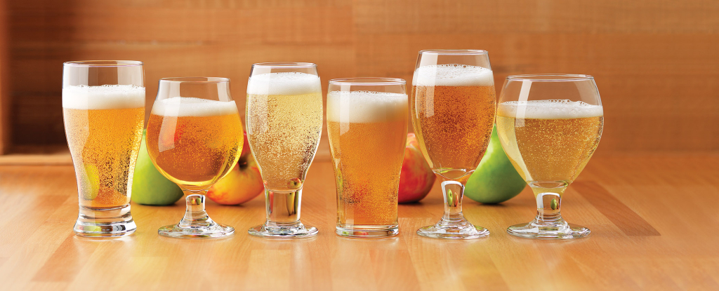Hard-Cider glasses