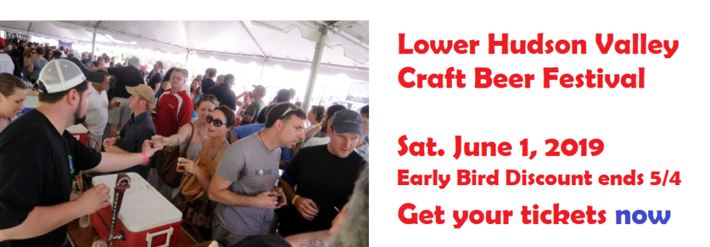 Lower Hudson Craft Beer Festival 6/1